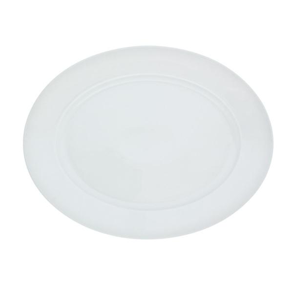 KAHLA Teller flach /Servierplatte 32 x 24 cm ARONDA Weiß