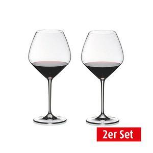 RIEDEL Rotweinglas / Weinglas im 2er Set für je 770 ml HEART TO HEART
