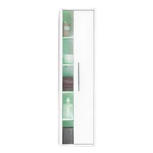 Mittelschrank Weiß Glanz Nachbildung ca. 27 x 120 x 22 cm
