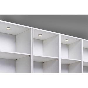 LED Unterbaustrahler Silber 3er-Set