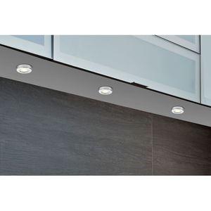 LED Unterbaustrahler Chrom 3er-Set
