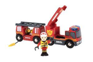 Feuerwehr-Leiterwagen