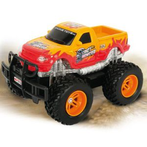 DICKIE RC Crazy Monster, RTR, orange 40 MHz