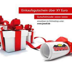 »Jawoll« Geschenkgutschein 80,00 Euro Einkaufswert