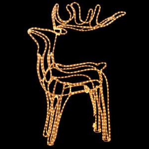 LED-Figur »Rentier« 110 cm hoch 480 LED warmweiß