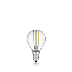 LED-Glas-Filament E14 2W 250lm 2er-Set