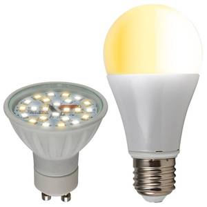 Einstellbare LED Lampen mit 3 Farbtönen Heitronic
