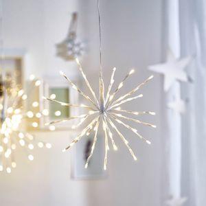 Leuchtobjekt Stern, D:30cm, weiß