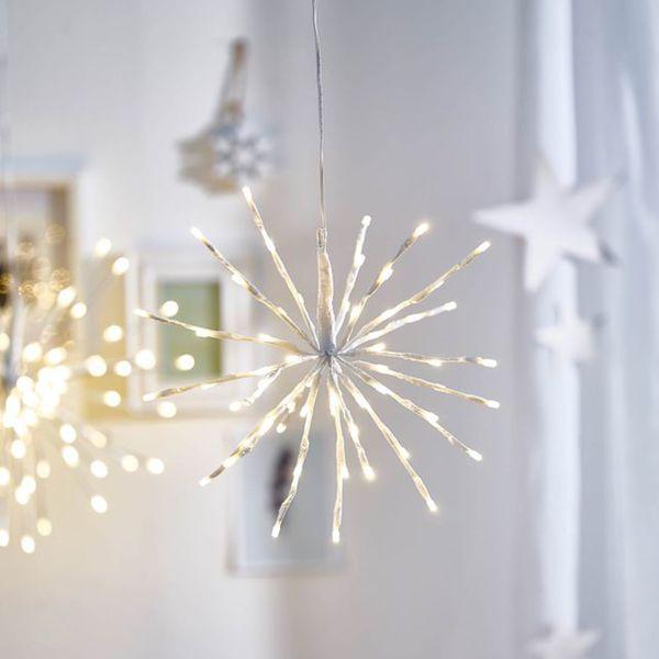 Depot Weihnachtsbeleuchtung.Leuchtobjekt Stern D 30cm Weiß