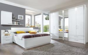 Disselkamp - Schlafzimmer Urbino in Lack weiß