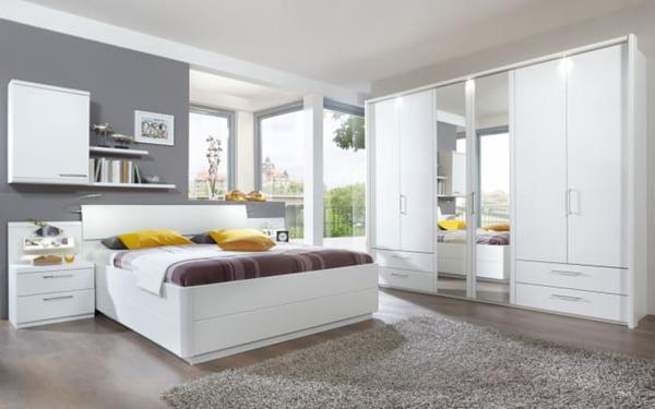 Disselkamp - Schlafzimmer Urbino in Lack weiß von HARDECK für 2.199 ...