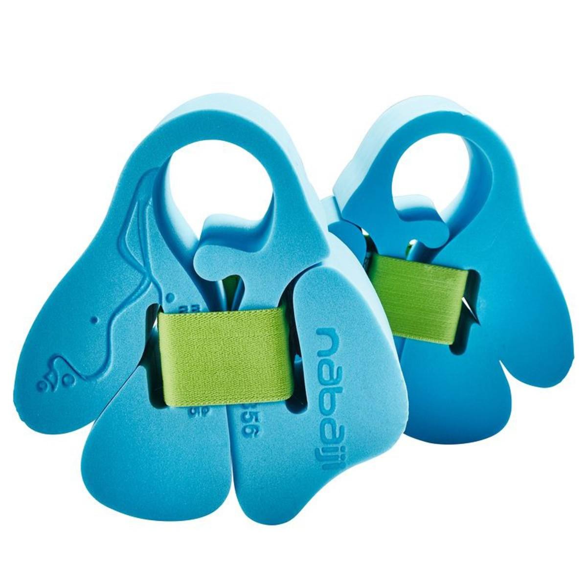 Bild 2 von Schaumstoff-Schwimmflügel mit Elastikriemen Kinder 15-30 kg blau