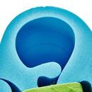 Bild 3 von Schaumstoff-Schwimmflügel mit Elastikriemen Kinder 15-30 kg blau