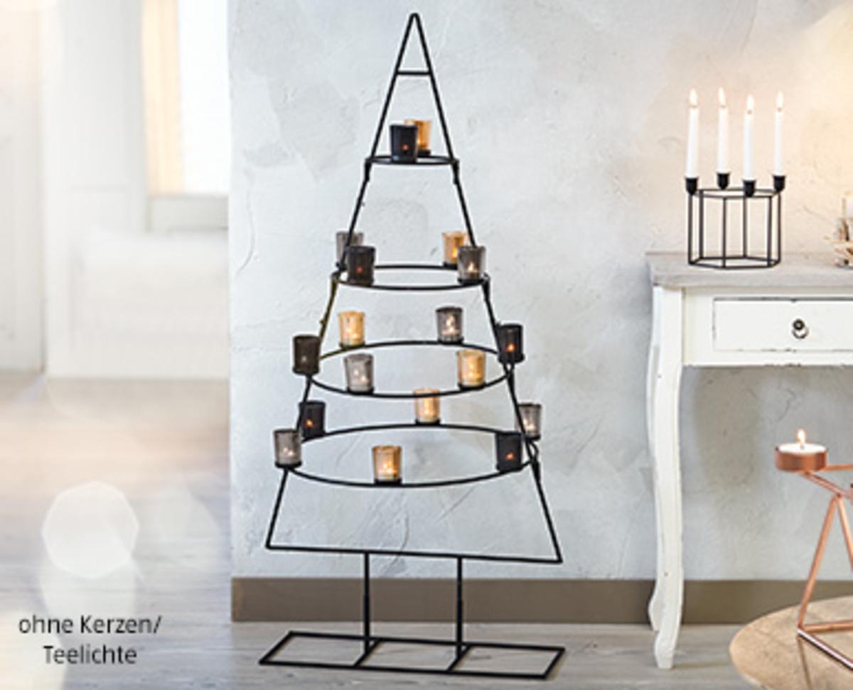 casa deco metall weihnachtsbaum von aldi s d ansehen. Black Bedroom Furniture Sets. Home Design Ideas