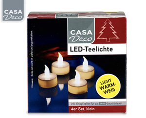 CASADeco LED-Teelichte