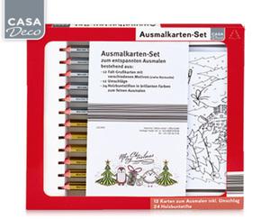CASADeco Ausmalkarten-Set