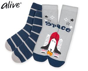 alive® Kinder-Winter-Socken, 2Paar