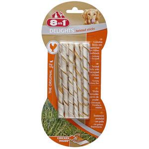 8in1 Kaustangen Delights Twisted Sticks 9.07 EUR/100 g