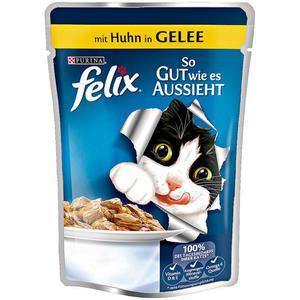 Felix so gut wie es aussieht mit Huhn in Gelee (20 x 100.00g)