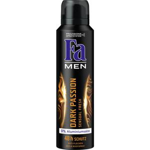Fa Men Dark Passion Sensual Fresh Deo & Bodyspray