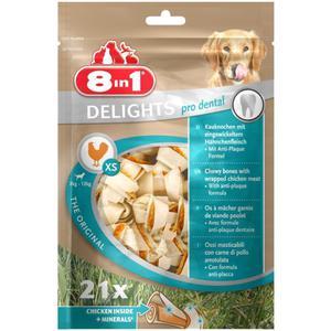 8in1 Delights Pro Dental Kauknochen XS 39.64 EUR/1 kg