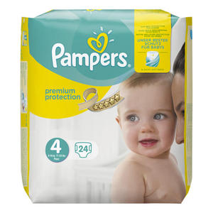 Pampers Windeln Premium Protection, Größe 4 Maxi