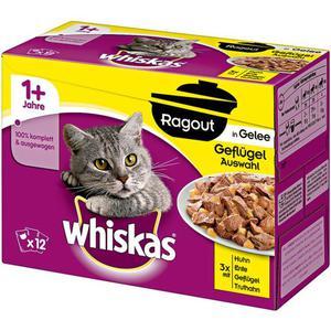 Whiskas 1x Ragout in Gelee Geflügelauswahl Multipack 3.23 EUR/1 kg