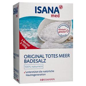 ISANA med Original Totes Meer Badesalz 1.33 EUR/1 kg