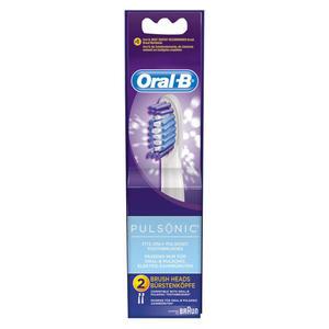 Oral-B Pulsonic Zahnbürsten-Aufsteckbürsten