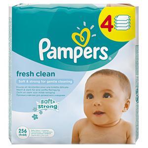 Pampers fresh clean Feuchttücher Multi-Pack