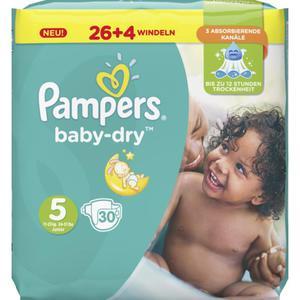 Pampers Baby Dry Windeln Baby Dry Sparpack, Größe 5 Junior