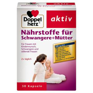Doppelherz aktiv Nährstoffe für Schwangere + Mütter 11.69 EUR/100 g