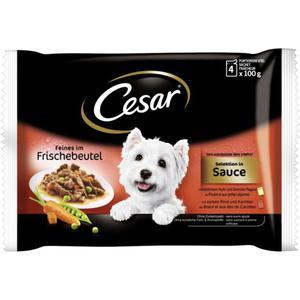 Cesar feines im Frischebeutel Selektion in Sauce Multipa 3.73 EUR/1 kg