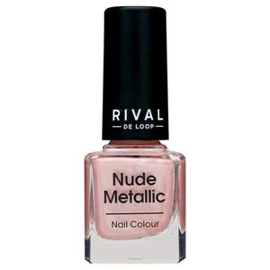 Rival de Loop nude metallic nail colour 01