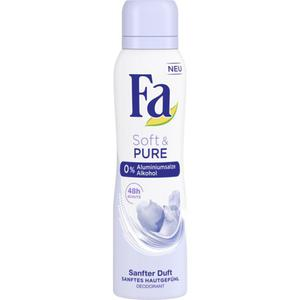 Fa Deodorant Spray Soft & Pure 0.83 EUR/100 ml