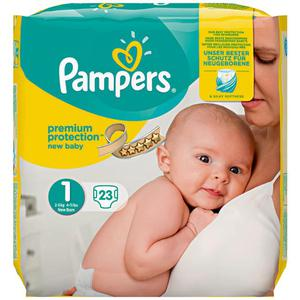 Pampers Windeln Premium Protection, Größe 1 New Baby