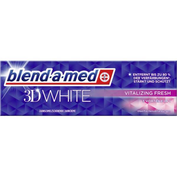Blend-a-med Zahncreme 3D white Vitalizing Fresh 2.39 EUR/100 ml