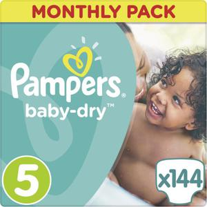 Pampers Baby Dry Windeln Baby Dry Monatsbox, Größe 5 Junior