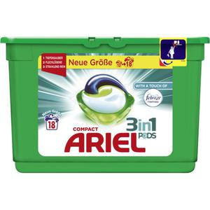 Ariel Compact 3in1 Pods Vollwaschmittel with a touch of 0.25 EUR/1 WL