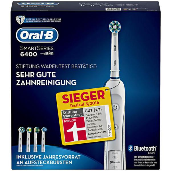 Oral-B powered by Braun Smart Series PRO 6400 elektrische Zahnbürste