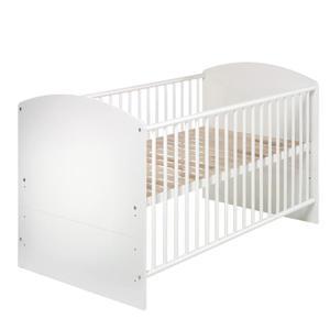 Schardt Kombi-Kinderbett ´´Classic-Line weiß´´ 70 x 140 cm