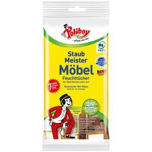 Poliboy Staubmeister Möbel Feuchttücher
