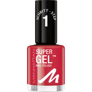 Manhattan Super Gel Nail Polish 625 Devious Red 37.08 EUR/100 ml