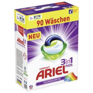 Ariel Compact 3in1 Pods Colorwaschmittel, 90 WL 0.22 EUR/1 WL