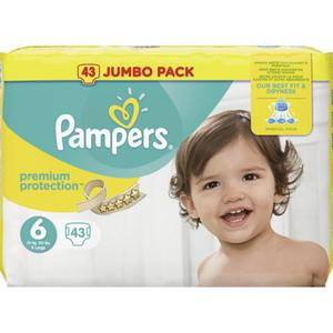 Pampers Windeln Premium Protection, Größe 6 Extra Large
