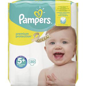 Pampers Windeln Premium Protection, Größe 5 Junior Plus