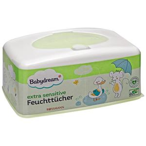 Babydream extra sensitive Feuchttücher Box