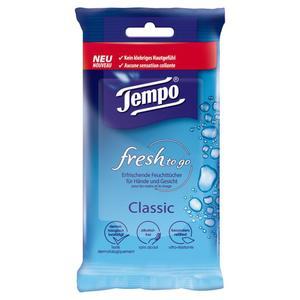 Tempo fresh to Go Classic erfrischende Feuchttücher