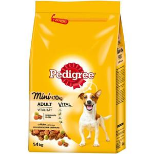 Pedigree Vital Protection™ Adult mini Trockenfutter mit 3.06 EUR/1 kg
