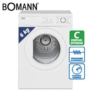Abluft-Wäschetrockner WT 5022 • 12 Trocken-/3 Zeitprogramme und Zusatzoptionen • Überhitzungsschutz • Maße: H 85,0 x B 59,5 x T 55,5 cm • Energie-Effizienz C (Spektrum: A+++ bis D)